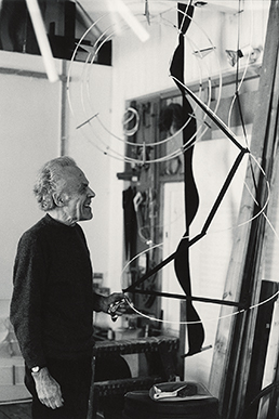 Michael Kidner, studio shot, 1992