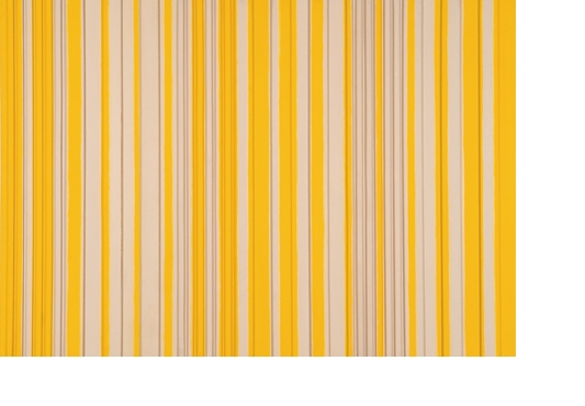 <b>Yellow Grey Relief</b> 1963, acrylic on board construction, 109 x 152 cm